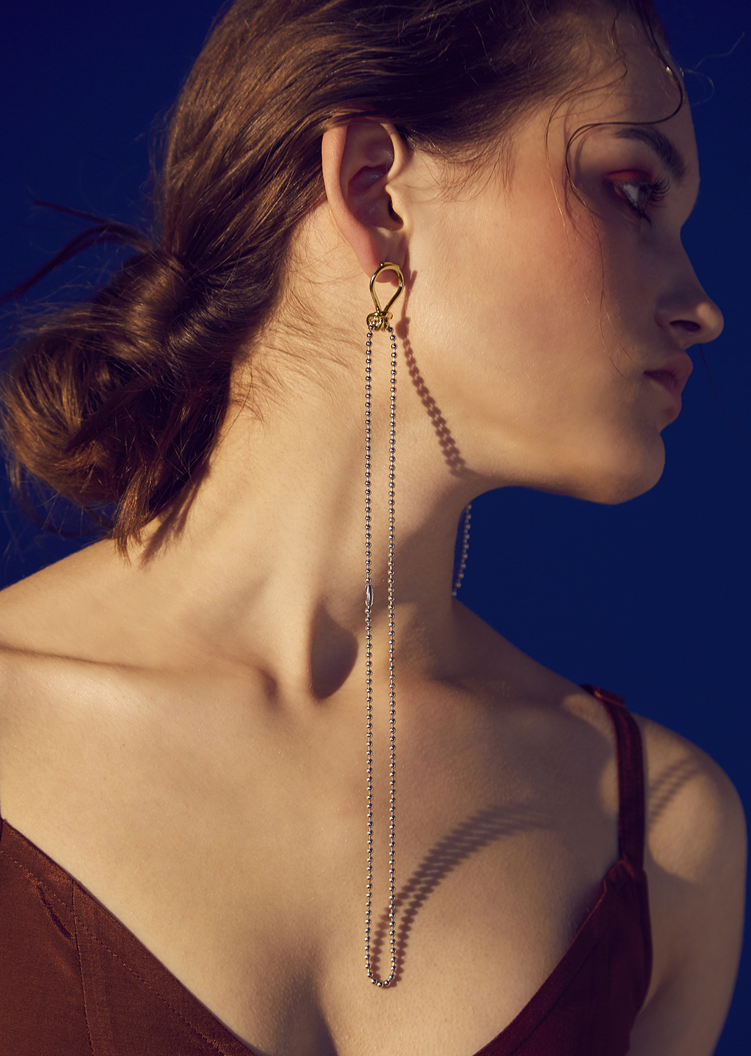 Rope Ball Earring