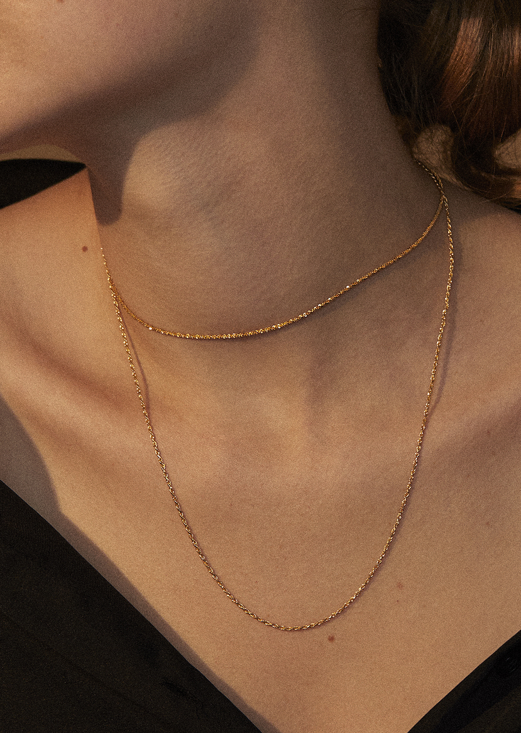Classic Chain Necklac -A