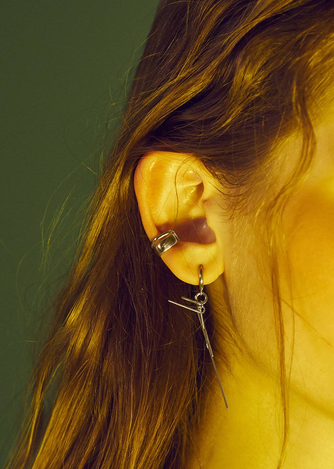 Duo Layer Earcuff